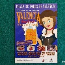 Postales: POSTAL VALENCIA BIERFEST (2009) PLAZA DE TOROS. Lote 243944685