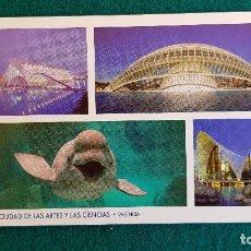 Postales: POSTAL PUBLICIDAD CIUDAD DE LAS ARTES Y LAS CIENCIAS (2008) VALENCIA. Lote 243956935