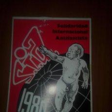 Cartoline: POSTAL SOLIDARIDAD INTERNACIONAL ANTIFASCISTA 1980 S.I.A.. Lote 244831265