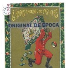 Postales: (PS-64595)POSTAL PUBLICITARIA EL LOGROÑES-CAFE Y LECHE Y ESPECIALES CON ALMENDRA. Lote 244900695