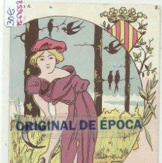 Postales: (PS-64658)POSTAL PUBLICITARIA LA JOYA DE BRASIL-ILUSTRADA E S. Lote 245955535