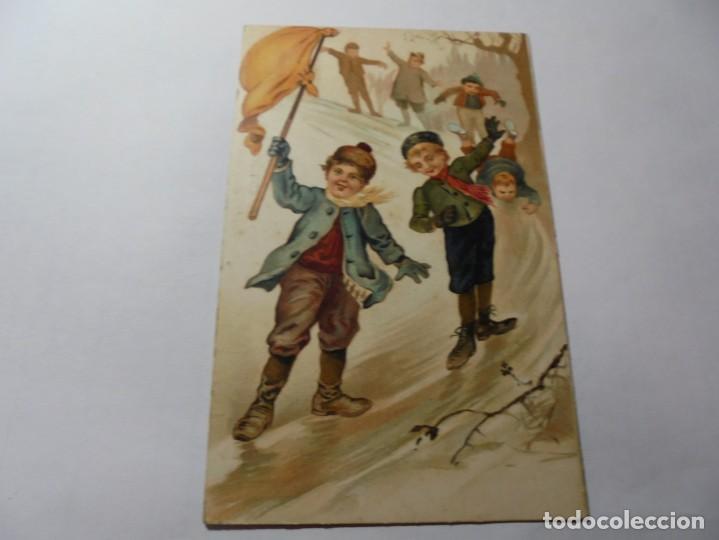 Postales: magnificas antiguas 4 postales publicidad el algodon mentolado volcan - Foto 2 - 246310220