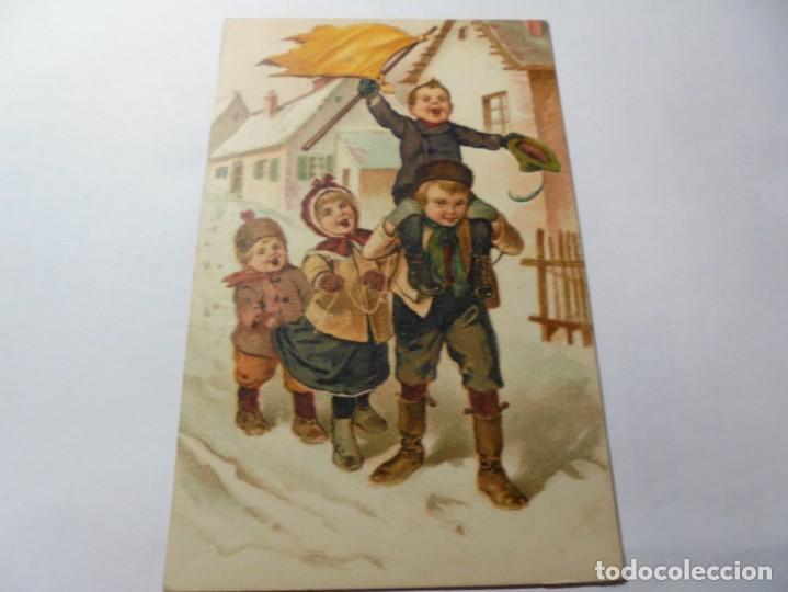 Postales: magnificas antiguas 4 postales publicidad el algodon mentolado volcan - Foto 4 - 246310220