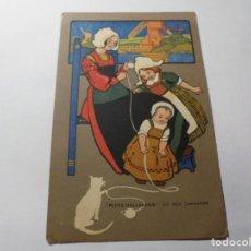 Postales: MAGNIFICAS ANTIGUAS 4 POSTALES PUBLICIDAD EL CALLICIDA ESCRIVA. Lote 246310765