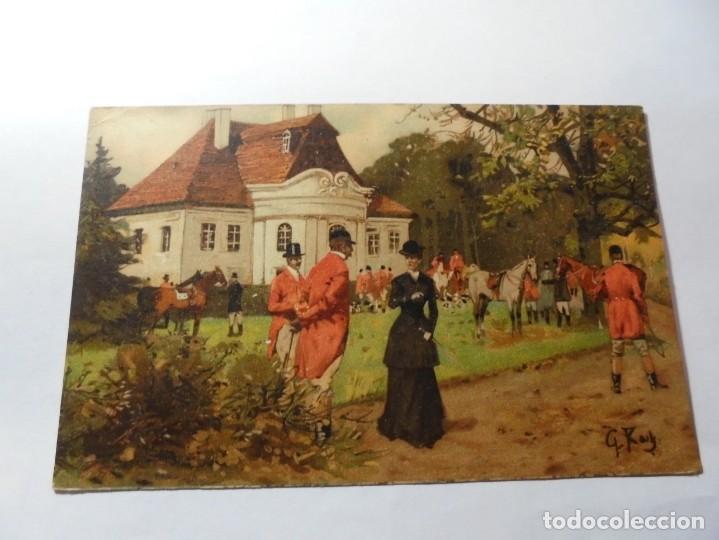 Postales: magnificas 5 postales antiguas publicidad linimento alonso ojera para caballos - Foto 4 - 246320350