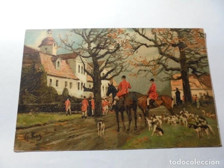 Postales: magnificas 5 postales antiguas publicidad linimento alonso ojera para caballos - Foto 5 - 246320350