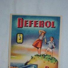 Postales: POSTAL DE MEDICINA , DEFEROL .. Lote 246334805