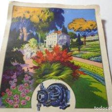 Postales: MAGNIFICA ANTIGUA POSTAL PUBLICITARIA,LA BOMBA BLOCH. Lote 246338840