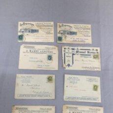 Postales: LOTE DE POSTALES PUBLICITARIAS, AZULEJOS , LOZA , MOSAICOS , SANTANDER , CASTELLON , VALLADOLID. Lote 247099735