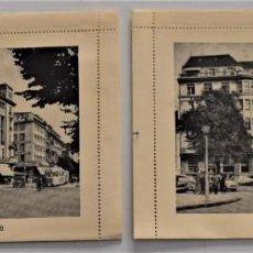 Postales: DOS CARTA-TARJETA PUBLICIDAD SAVOY HÔTEL BAUR EN VILLE ZÜRICH SIN USAR AÑOS 60. Lote 252317355