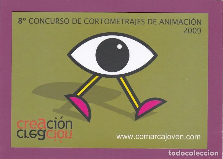 POSTAL 8º CONCURSO DE CORTOMETRAJES DE ANIMACION 2009. COMARCA DE LA SIDRA (ASTURIAS) (Postales - Postales Temáticas - Publicitarias)