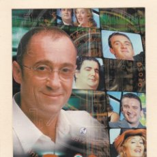 Postales: POSTAL ETB. EUSKAL TELEBISTA. 100% VASCOS. ANTXON URROSOLO + LOUVIER'S: OSCAR TEROL ... (1999). Lote 253920610