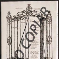Postales: ANUNCIO DE LÍNEA AÉREA BOAC. ANUNCIO EXTRAÍDO DE LIBRO CONMEMORATIVO. ESTADOS UNIDOS. AÑO 1950.. Lote 254168425