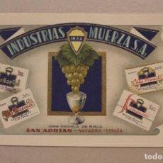 Postales: POSTAL NAVARRA, INDUSTRIAS MUERZA, S.A.. Lote 254344615