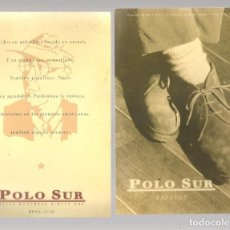 Postales: TARJETA PUBLICITARIA. POLO SUR. RIOJA 14 -16. SEVILLA. IMPRESA AMBAS CARAS.(C/A28). Lote 257508310