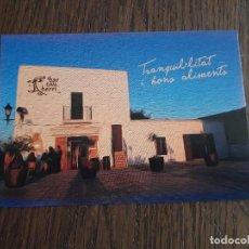Postales: POSTAL DE PUBLICIDAD, POSTALFREE, BAR CAN BERRI, SAN AGUSTÍN. IBIZA.. Lote 258207110