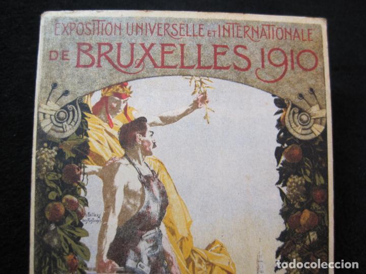 Postales: EXPOSITION UNIVERSELLE E INTERNATIONALE DE BRUXELLES 1910-PUBLICIDAD-POSTAL ANTIGUA-(80.266) - Foto 2 - 261265245