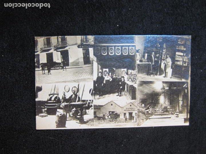 Postales: GURUGU-VARIAS VISTAS-TIENDA Y FABRICA-FOTOGRAFICA-PUBLICIDAD-POSTAL ANTIGUA-(80.427) - Foto 2 - 262295625