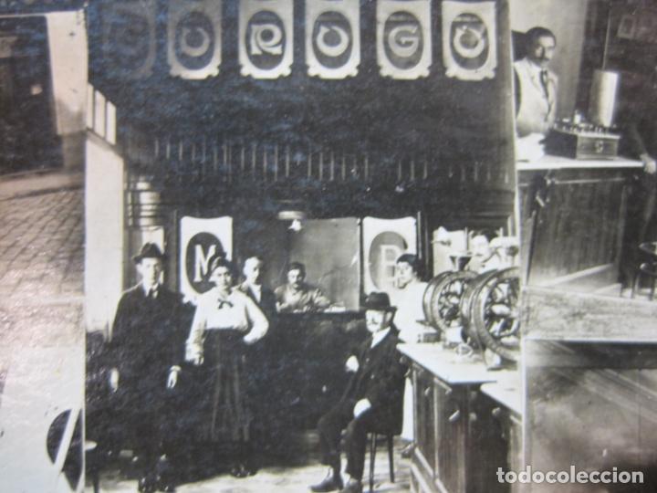 Postales: GURUGU-VARIAS VISTAS-TIENDA Y FABRICA-FOTOGRAFICA-PUBLICIDAD-POSTAL ANTIGUA-(80.427) - Foto 5 - 262295625