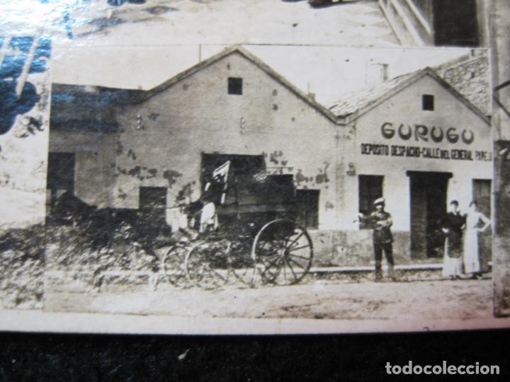 Postales: GURUGU-VARIAS VISTAS-TIENDA Y FABRICA-FOTOGRAFICA-PUBLICIDAD-POSTAL ANTIGUA-(80.427) - Foto 6 - 262295625