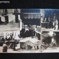Postales: GURUGU-VARIAS VISTAS-TIENDA Y FABRICA-FOTOGRAFICA-PUBLICIDAD-POSTAL ANTIGUA-(80.427). Lote 262295625