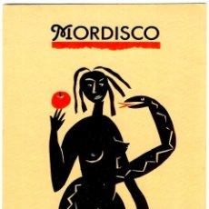 Postales: RESTAURANTE MORDISCO - BARCELONA - POSTAL PUBLICITARIA - 150X104MM. - DISEÑADOR: PERET. Lote 263033640