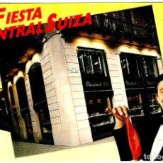 Postales: MAGIC ANDREU - FIESTA CENTRAL SUIZA - 149X105MM. - INÉDITA EN TODOCOLECCIÓN. Lote 263033955