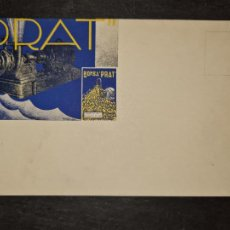 Postales: TARJETA POSTAL PUBLICITARIA BOMBA PRATCENTIFRUGA.. Lote 263065845