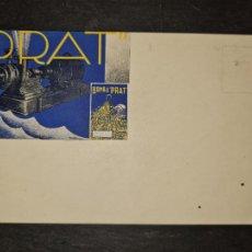 Postales: TARJETA POSTAL PUBLICITARIA BOMBA PRATCENTIFRUGA.. Lote 263065905