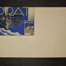 Postales: TARJETA POSTAL PUBLICITARIA BOMBA PRATCENTIFRUGA.. Lote 263065955