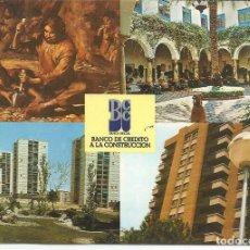 Postales: POSTAL BANCO DE CREDITO A LA CONSTRUCCIÓN - MADRID - CIRCULADA 1980. Lote 263096580