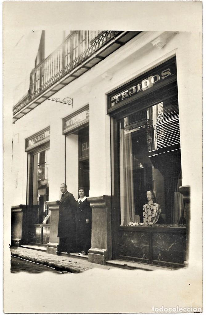 Postales: EL SIGLO TEJIDOS Y NOVEDADES. TORMO, CAMÚS Y ORTEGA - JÁTIVA (VALENCIA) - LEONAR 352 UNION POSTALE - Foto 2 - 264491254