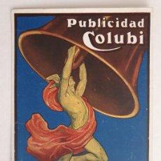 Postales: AGENCIA DE PUBLICIDAD COLUBI - BARCELONA - P51909. Lote 265366614