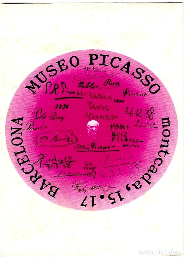 MUSEO PICASSO - CARRER MONTCADA 15.17 - BARCELONA - POSTAL 154X104MM (Postales - Postales Temáticas - Publicitarias)