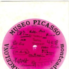Postales: MUSEO PICASSO - CARRER MONTCADA 15.17 - BARCELONA - POSTAL 154X104MM. Lote 268721989