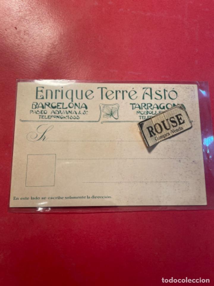 Postales: VINOS -ANTIGUA POSTAL VINOS DE JEREZ A.R.VALDESPINO Y H. -ENRIQUE TERRÉ ASTÓ -BARCELONA - TARRAGONA - Foto 2 - 268733469