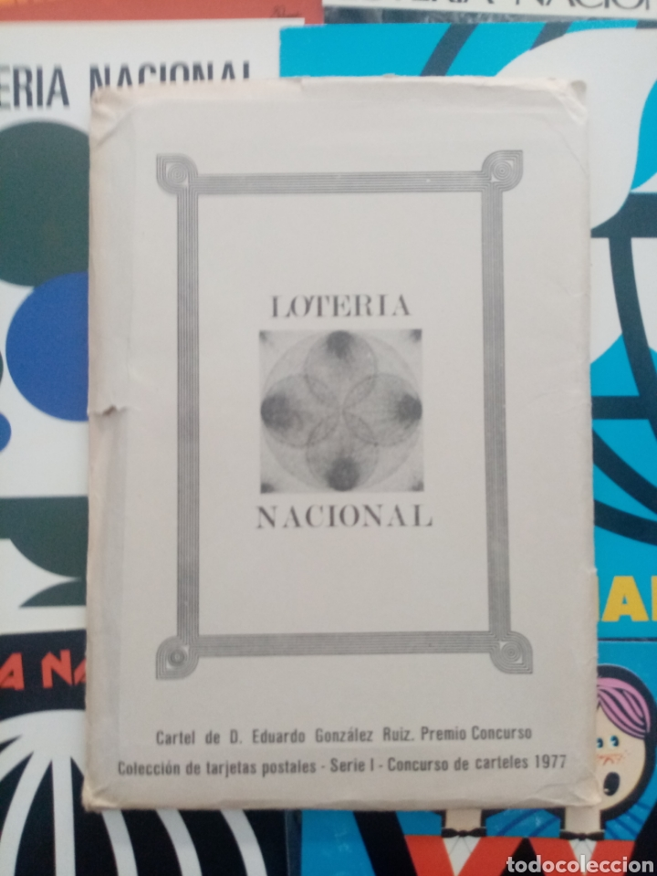 Postales: 12postales de carteles de Loteria 1977 - Foto 2 - 268740644