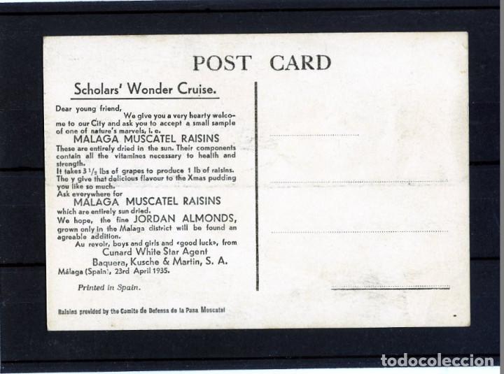 Postales: POSTAL PUBLICITARIA=EDITADA POR EL COMITE DE DEFENSA DE LA PASA MOSCATEL=VER FOTO ADICIONAL REVERSO. - Foto 2 - 268800124