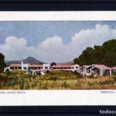 Postales: TARJETA POSTAL DE ESTEPONA(MALAGA)=HOTEL SANTA MARTA=NUEVA SIN CIRCULAR-VER FOTO ADICIONAL .. Lote 268800654