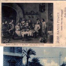 Postales: TRES POSTALES DE FIRMAS COMERCIALES DE MALAGA Y PORTUGAL.VER FOTO ADICIONAL DE LOS REVERSOS .. Lote 269194438
