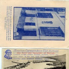 Postales: TRES TARJETAS DIFERENTES DE MALAGA-VER FOTO ADICIONAL DE LOS REVERSOS .. Lote 269203003