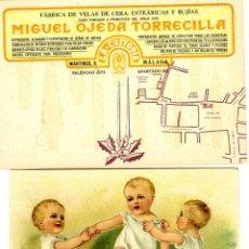 Postales: DOS TARJETAS PUBLICITARIAS DE FIRMAS COMERCIALES DE MALAGA-VER FOTO ADICIONAL DE LOS RVERSOS .. Lote 269203723