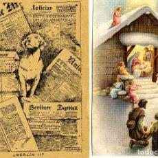 Postales: DOS POSTALES PUBLICITARIA-FIRMAS COMERCIALES DE MALAGA-VER FOTO ADICIONAL DE LOS REVERSOS .. Lote 269208448