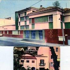 Postales: DOS TARJETAS POSTALES=HOTEL EMPERATRIZ , FACHADA Y JARDIN=VER FOTOS ADICIONALES DE LOS REVERSOS .. Lote 269345108