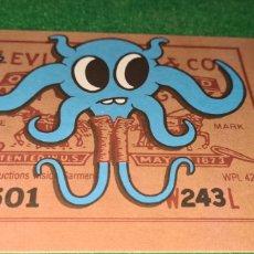 Postales: PRECIOSA POSTAL PUBLICITARIA DE LEVI'S STRAUSS.. Lote 269677503