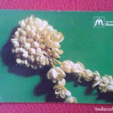 Postales: POST CARD THE MANILA MANDARIN ¿HOTEL? ISLAS FILIPINAS SAMPAGUITA THE NATIONAL FLOWER OF PHILIPPINES. Lote 271637918