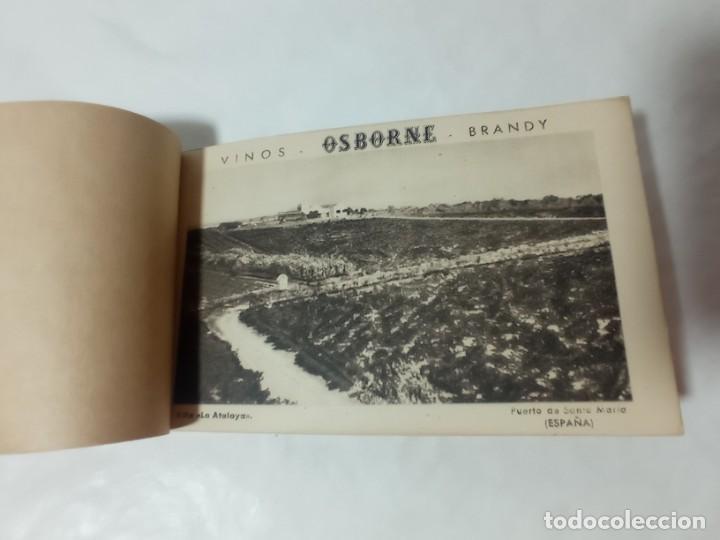 Postales: librillo de 10 postales Osborne vinos y brandy original no copia. Ref.auto - Foto 2 - 276822143