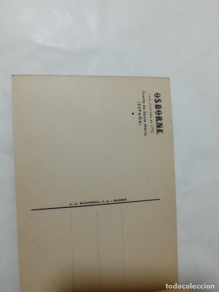 Postales: librillo de 10 postales Osborne vinos y brandy original no copia. Ref.auto - Foto 7 - 276822143