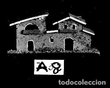Postales: Belén - Modelos de Casas de Corcho - Postal de Catálogo - 143x94 mm - Única - Foto 3 - 276972558