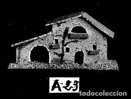 Postales: Belén - Modelos de Casas de Corcho - Postal de Catálogo - 143x94 mm - Única - Foto 6 - 276972558